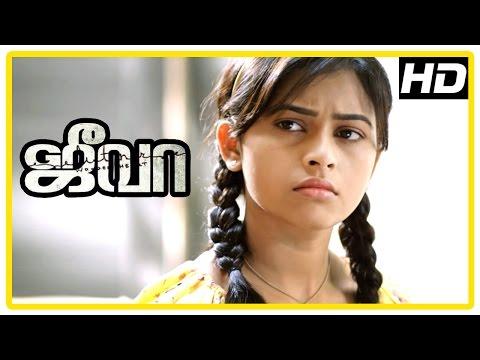 Jeeva Tamil movie   scenes   Sri Divya learns about Vishnu's mother   Charlie