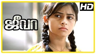 Jeeva Tamil movie | scenes | Sri Divya learns about Vishnu's mother | Charlie