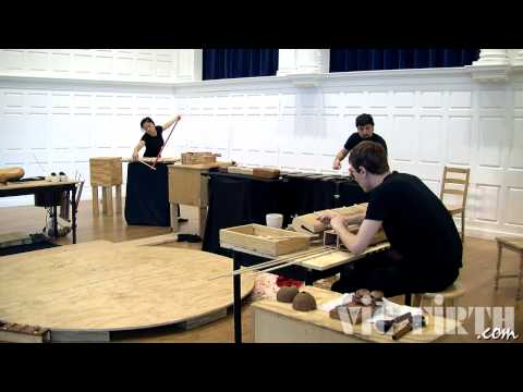 "Yale Percussion Group Performs Mauricio Kagel's ""Dressur"""