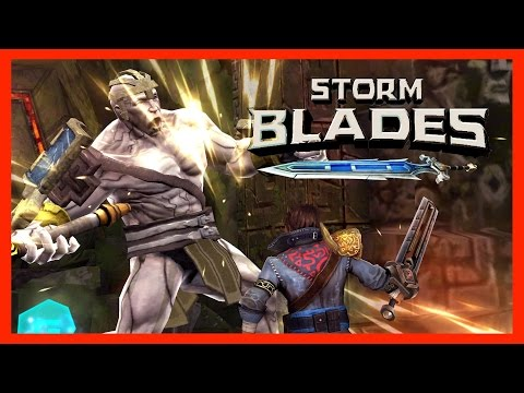 STORMBLADES Gameplay | The FREE Infinity Blade! | IOS Game Review (Android, IPhone, IPad)