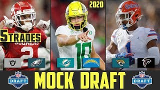 2020 NFL Mock Draft With TRADES | NFL Mock Draft Latest News & Rumors