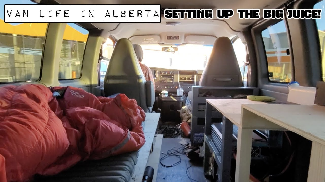 Van Life - Building a 4x4 Van While Living in it - Let There be Juice