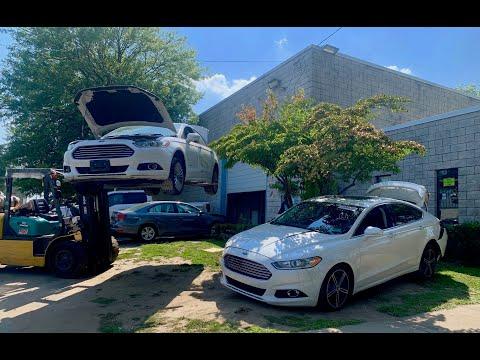 Тюнингованый Ford Fusion из Америки. Авто из США 🇺🇸. Цены на Ford Fusion Hybrid.