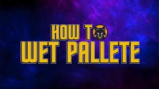 how to make a wet palette kujo painting tutorial