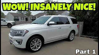 WORTH $77,000??? 2018 Ford Expedition Platinum!