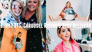 FUN SHOOT BTS, CAROUSEL RIDING &  BEST DELIVERY