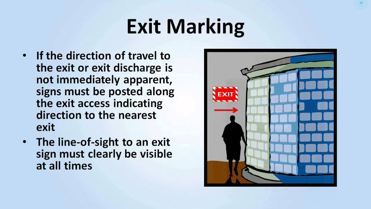 Exit Routes, Emergency Action Plans, Fire Prevention Plans, and ...