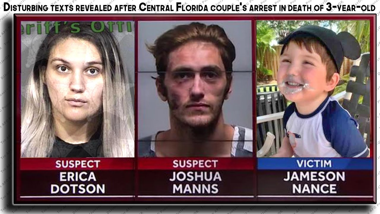 "🔂 FL couple's arrest in death of ""3-year-old Jameson Nance"" 👼 Details revealed!"
