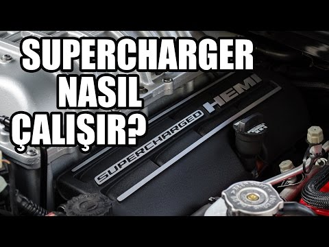 Ne Nedir? | Supercharger (Kompresör)