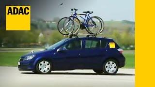Fahrradträger im Test   ADAC