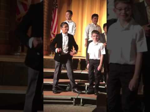 Dave @ Ardsley middle school 5th grade concert 2016 dec 15