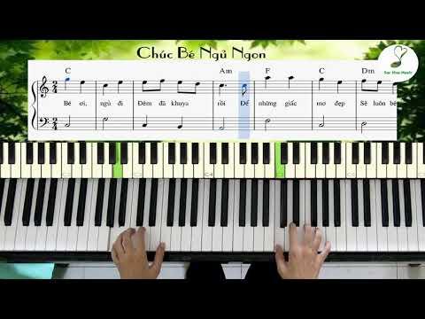 Chúc Bé Ngủ Ngon (#36)   Bài 36 - Sách piano cơ bản tập 1