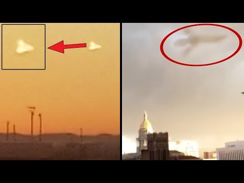 UFO In Texas? The Strangest Mysterious Flying Objects (September 2018)
