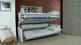Divano Letto Castello Due - Sofa Bunk Bed