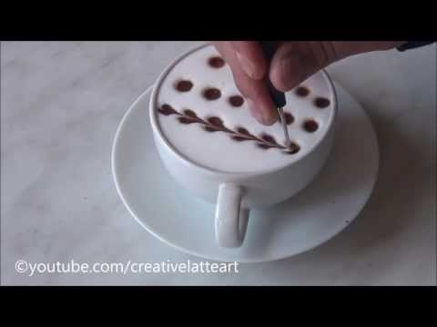 Creative Latte Art For Beginners | Tutorial 10