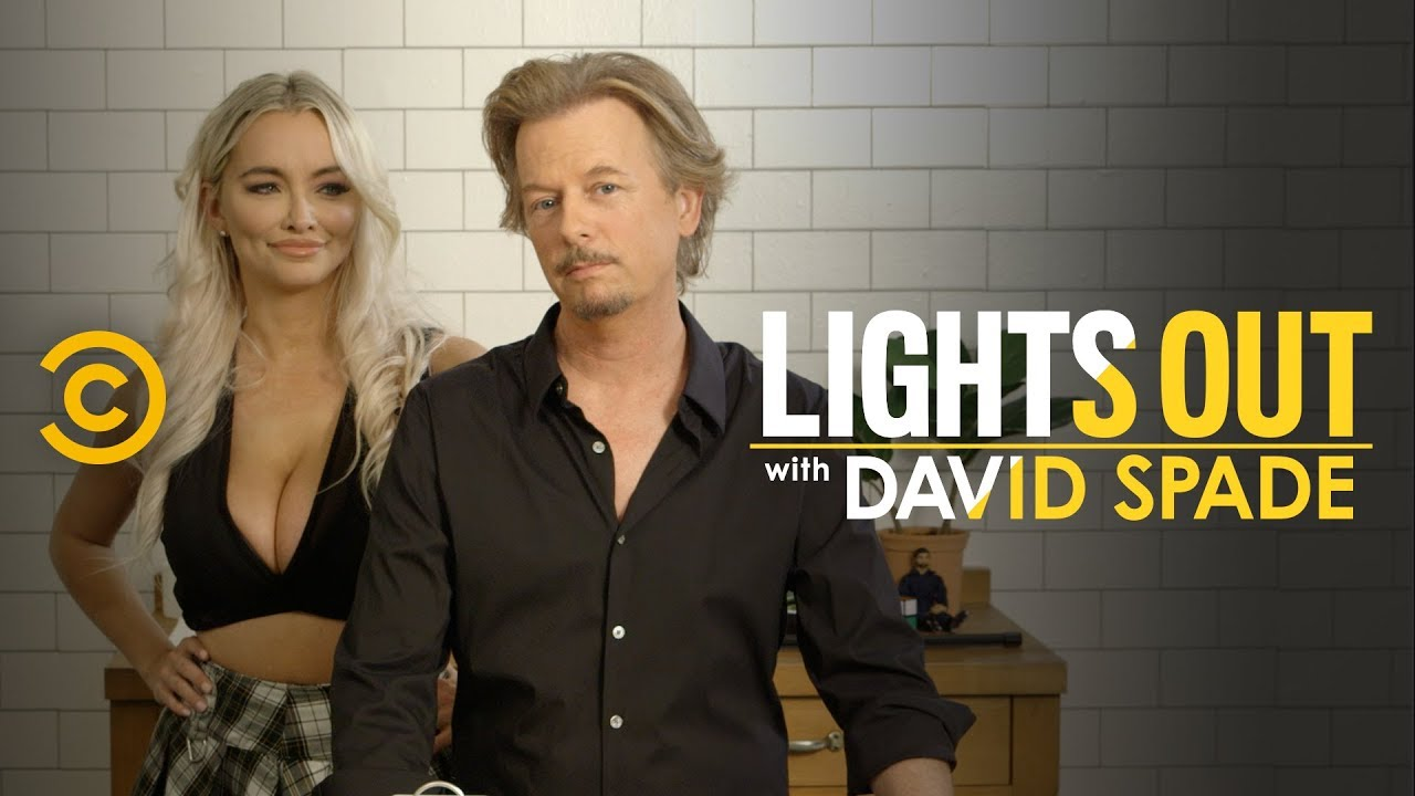 David Spade's Diet Tea (feat. Lindsey Pelas) - Lights Out with David Spade