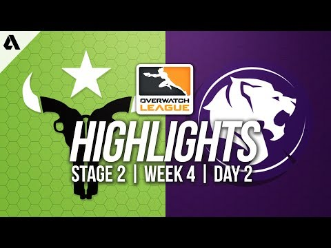 Houston Outlaws vs Los Angeles Gladiators | Overwatch League Highlights OWL Stage 2 Week 4 Day 2