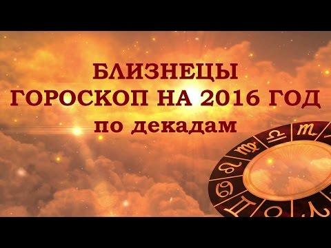 Видео, БЛИЗНЕЦЫ. ГОРОСКОП НА 2016 ГОД ОТ АННЫ ФАЛИЛЕЕВОЙ
