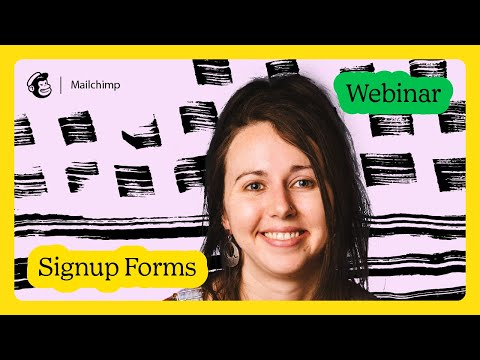 Grow Your Audience with Signup Forms
