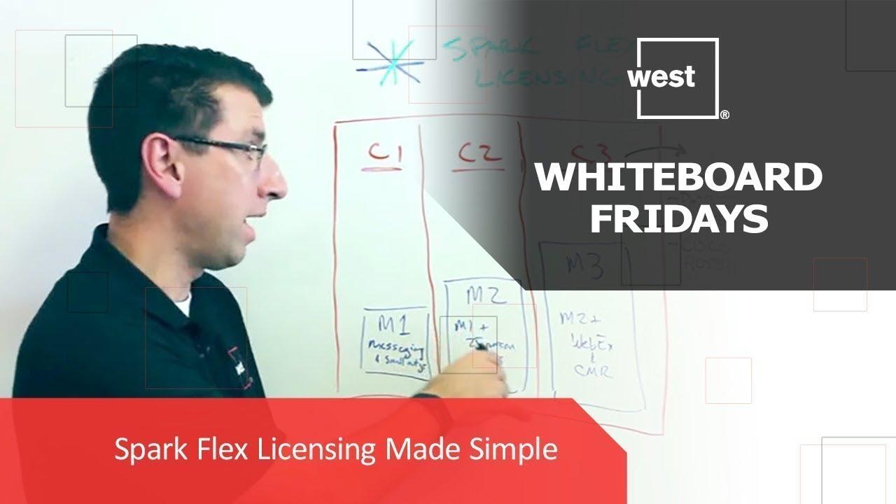 Whiteboard Fridays: Spark Flex Licensing Made Simple