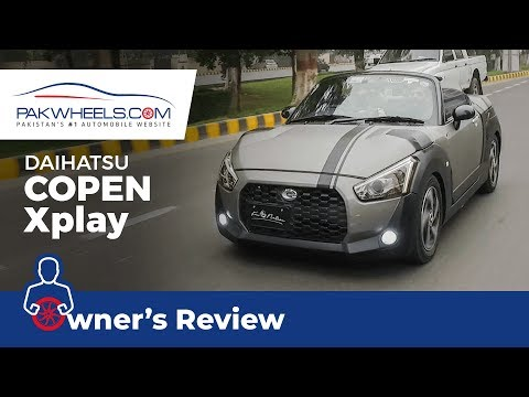 Daihatsu Copen X Play 2015 Owner's Review: Price, Specs & Features | PakWheels