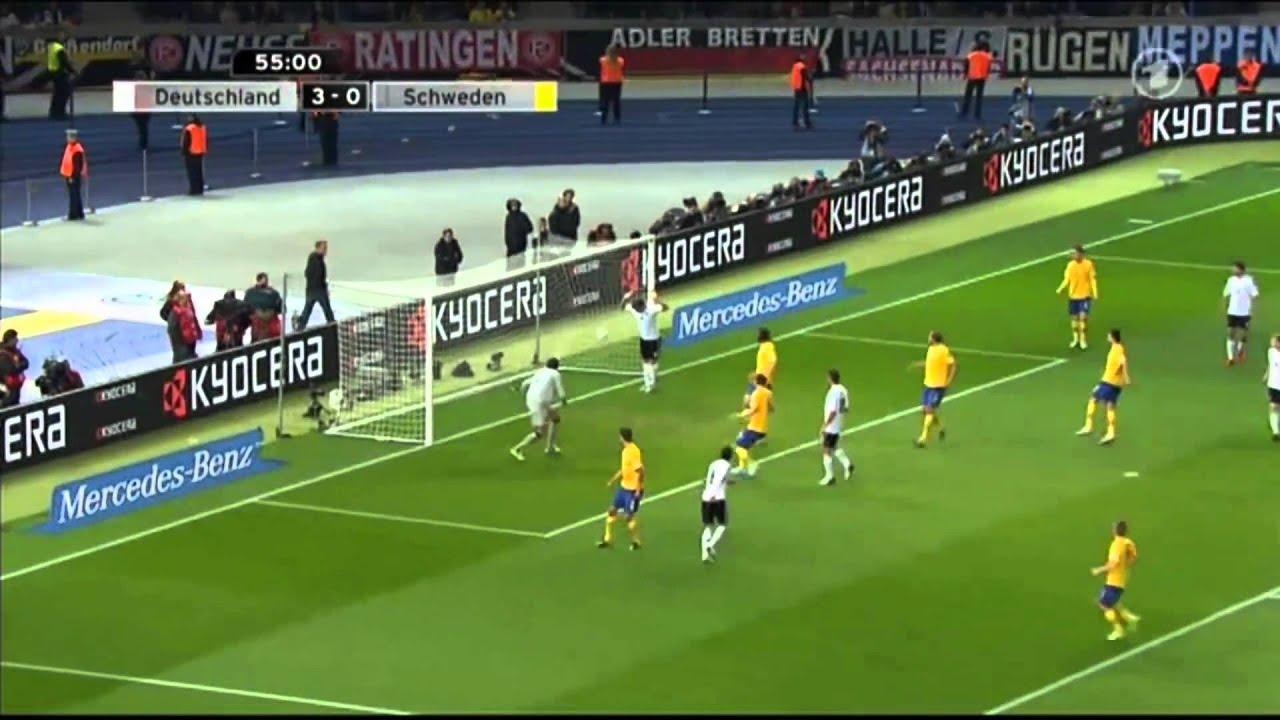 Deutschland Schweden 4:4
