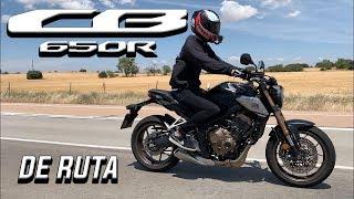 RUTA CON HONDA MOTOR SPORT Y MAJES EN MOTO