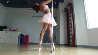 BALLET DANCER WITH POLE SPORT