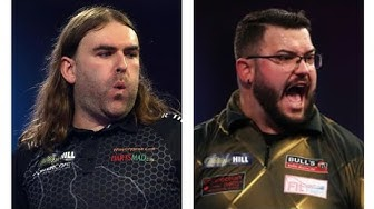 Ryan Searle vs Cristo Reyes 2020 UK Open Darts R3