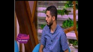 الستات مايعرفوش يكدبوا | خالد حسين : صوتي بيعلى غصب عني ووممكن اتعصب لو مفيش اكل في البيت