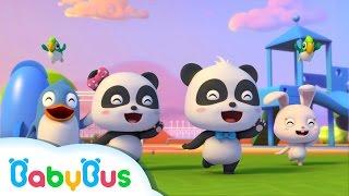 ♬Hello Song (3D) | ハローソング | あいさつのうた | 赤ちゃんが喜ぶ英語の歌 | 子供の歌 | 童謡  | アニメ | 動画 | BabyBus