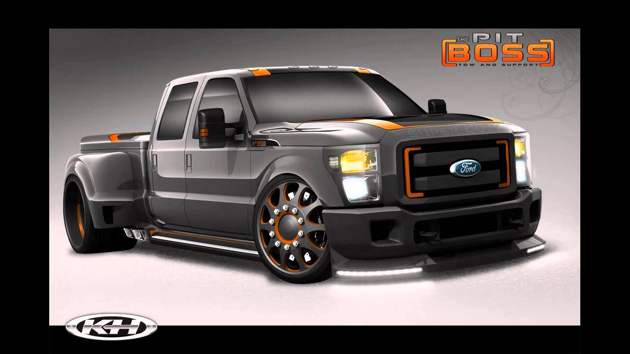 Ford f series sema line up 2010