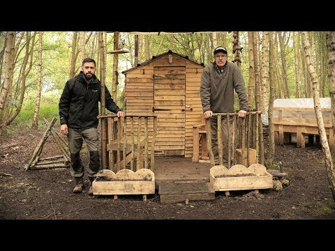 Off Grid Pallet Wood Homestead Build - Pallet Wood Projects at The Cabin