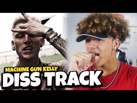 "EMINEM'S CAREER IS OVER?! Machine Gun Kelly ""Rap Devil"" (Eminem Diss) REACTION/REVIEW"