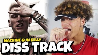 "EMINEM'S CAREER IS OVER?! Machine Gun Kelly ""Rap Devil"" (Eminem Diss) REACTION/REVIEW"