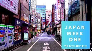 🇯🇵JAPAN VLOG WEEK 1 🍣| The Departure Desk