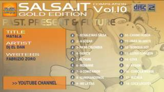 SALSA.IT VOL.10 GOLD EDITION:MATALA, Dj EL DAN
