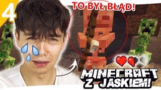 DZIEWCZYNKA ZOSTAWIŁA MNIE W JASKINI  - Minecraft z Jaśkiem #4 | JDABROWSKY