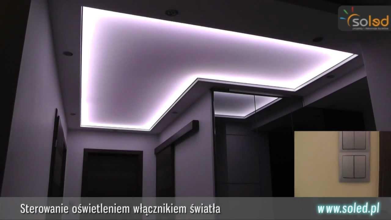 Podświetlenie Sufitu Napinanego Taśma Led 5050 Wwwsoledpl