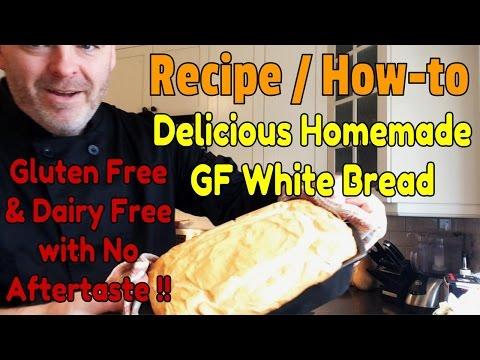 Gluten Free Bread - The Most Delicious Homemade Gluten Free White Bread Recipe