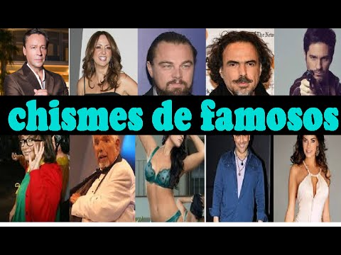 10 chismes de famosos noticias escandalos 2015 youtube