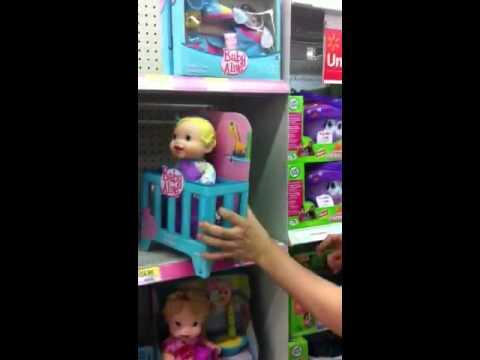Creepy Walmart Toys Baby Alive Youtube