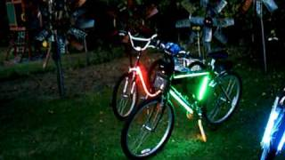 BICYCLES WITH SPEAKERS, LIGHTS,AMPS,MP3,& DVD Player