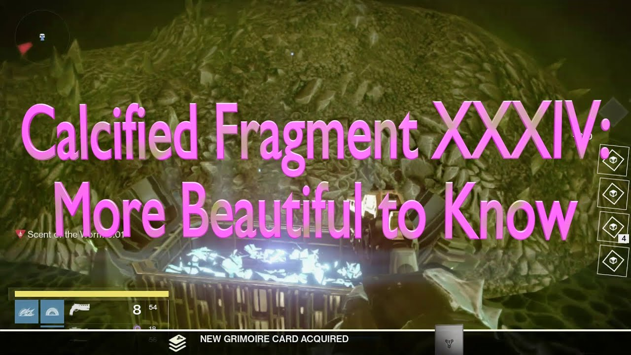 Destiny: Calcified Fragment XLII - Orcz.com, The Video ...