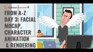 Cartoon-Animator von A-Z (3. Tag: Gesichts-Mocap -, Charakter-Animation & Rendering)