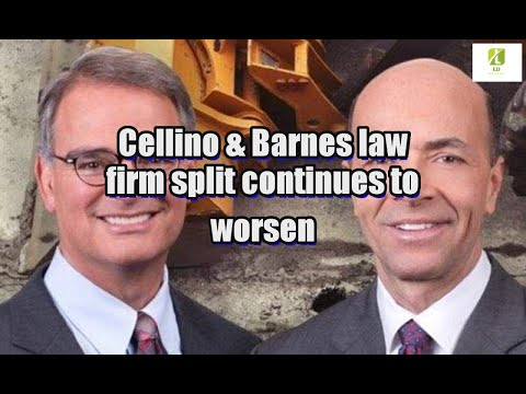 Cellino & Barnes law firm split continues to worsen