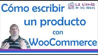 Introducir Productos en WooCommerce