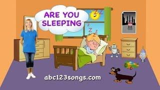 Are You Sleeping - Fun Animated Kids Song