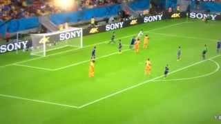 サッカー日本代表ワールドカップ対コートジボワール戦 ゴールダイジェスト