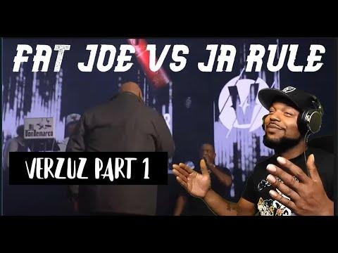 FAT JOE VS JA RULE -VERZUZ (REACTION!!!)